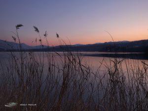 Lago Grande Avigliana - Passeggiata al tramonto