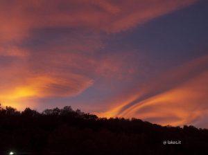 28/10/17, fr. Grignetto - Avigliana, tramonto