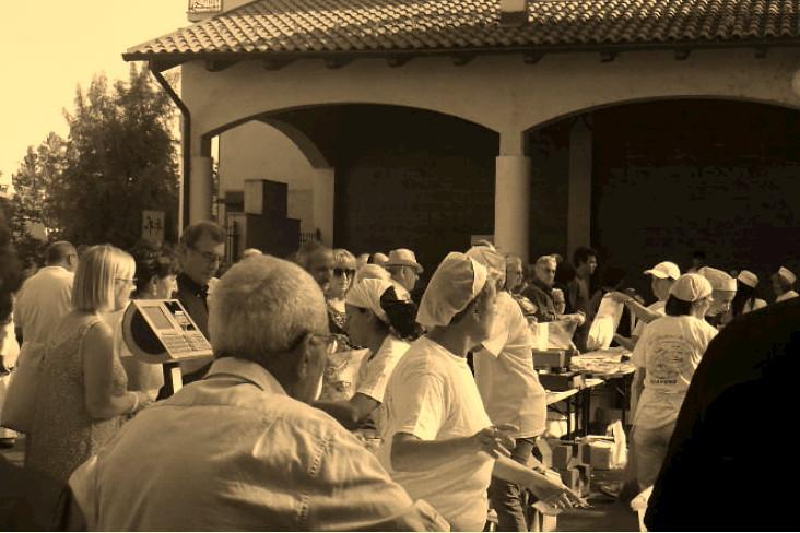 Festa del pane, piazza Mautino Giaveno